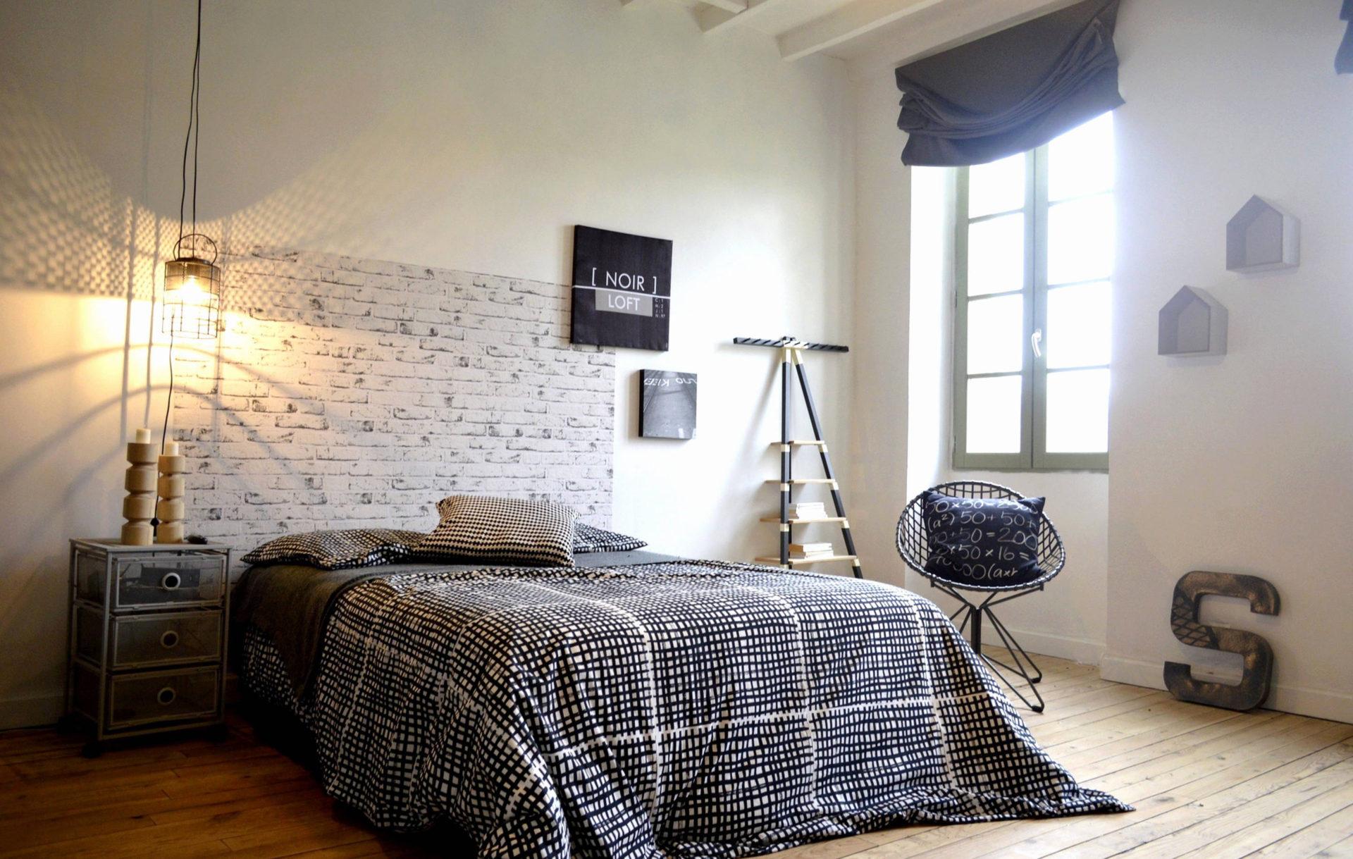 Quelle déco industrielle pour une chambre ?